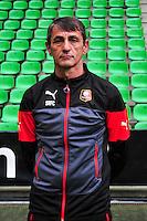 Michel TROIN - 15.09.2014 - Photo officielle Rennes - Ligue 1 2014/2015<br /> Photo : Philippe Le Brech / Icon Sport
