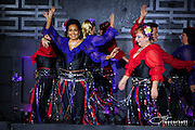A dance performance at Taste of LA Bellydance 2015
