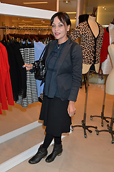 PEARL LOWE at the launch of the 'Jasmine for Jaeger' fashion collection by Jasmine Guinness for fashion label Jaeger held at Fenwick's, Bond Street, London on 9th September 2015.