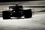 March 7-10, 2017: Circuit de Catalunya. Daniel Ricciardo (AUS), Red Bull Racing, RB13 running with aero rakes