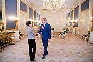 King Willem Alexander and Prime Minister Rutte received Monday, November 23, Her Excellency Mrs. Sim