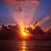 Sunrise, Caribbean Sea