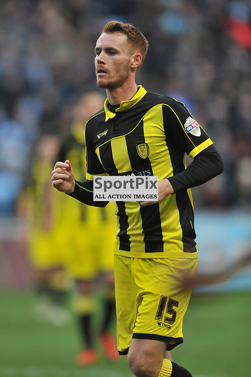 Tom Naylor Burton Albion, Coventry City v Burton Albion, Ricoh Arena,  Sky Bet League 1, Saturday 16th JJanuary 2016, (Mike Capps/Sportpix)