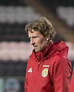 Scotland coach Scott Gemmill - Scotland under 21s v Estonia international challenge match at St Mirren Park, St Mirren. Pic David Young<br />  <br /> - © David Young - www.davidyoungphoto.co.uk - email: davidyoungphoto@gmail.com
