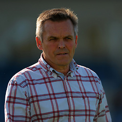 TELFORD COPYRIGHT MIKE SHERIDAN Nantwich boss Dave Cooke (formerly of Shrewsbury Town FC) during the National League North fixture between AFC Telford United and Nantwich Town on Saturday, September 21, 2019.<br /> <br /> Picture credit: Mike Sheridan<br /> <br /> MS201920-020