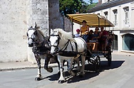 Wagon in Blois, Loire valley, France