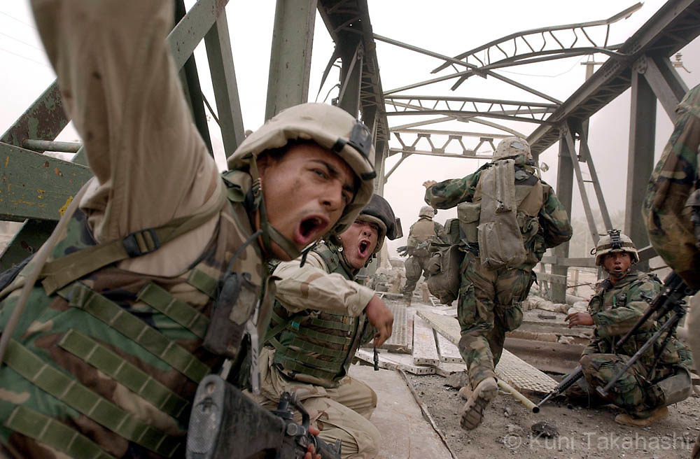 The U.S invasion in Iraq in 2003.
