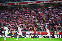 Supporters Lille - 03.02.2015 - Lille / Lens - 35eme journee de Ligue 1<br />Photo : Dave Winter / Icon Sport