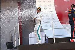 May 13, 2018 - Barcelona, Spain - Motorsports: FIA Formula One World Championship 2018, Grand Prix of Spain, .#44 Lewis Hamilton (GBR, Mercedes AMG Petronas Motorsport) (Credit Image: © Hoch Zwei via ZUMA Wire)