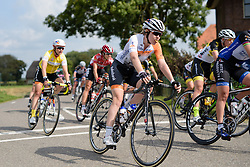 Anna van der Breggen (Rabo Liv) grabs a bite to eat at the 116 km Stage 5 of the Boels Ladies Tour 2016 on 3rd September 2016 in Tiel, Netherlands. (Photo by Sean Robinson/Velofocus).