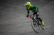 Cruiser - 12 & Under Men #34 (GALVIN Brody) RSA at the 2018 UCI BMX World Championships in Baku, Azerbaijan.