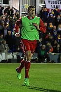 Steven Gerrard of Liverpool warms up before the FA Cup match at the Cherry Red Records Stadium, Kingston<br /> Picture by David Horn/Focus Images Ltd +44 7545 970036<br /> 05/01/2015