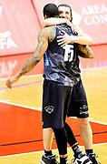 Joao Gomes Toto Forray<br /> Grissin Bon Pallacanestro Reggio Emilia - Dolomiti Energia Aquila Basket Trento<br /> Lega Basket Serie A 2016/2017<br /> Reggio Emilia, 26/02/2017<br /> Foto A.Giberti / Ciamillo - Castoria