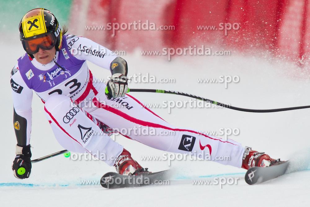 08.02.2011, Kandahar, Garmisch Partenkirchen, GER, FIS Alpin Ski WM 2011, GAP, Lady Super G, im Bild Nicole HOSP (AUT) // Nicole HOSP (AUT) during Women Super G, Fis Alpine Ski World Championships in Garmisch Partenkirchen, Germany on 8/2/2011. EXPA Pictures © 2011, PhotoCredit: EXPA/ J. Groder