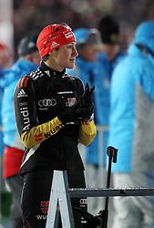 04.01.2012, DKB-Ski-ARENA, Oberhof, GER, E.ON IBU Weltcup Biathlon 2012, Staffel Frauen, im Bild Sabrina Buchholz (GER) .// during relay Ladies of E.ON IBU World Cup Biathlon, Thüringen, Germany on 2012/01/04. EXPA Pictures © 2012, PhotoCredit: EXPA/ nph/ Hessland..***** ATTENTION - OUT OF GER, CRO *****