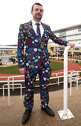 Cronan Baeare from Dublin during Gold Cup Day of the 2019 Cheltenham Festival at Cheltenham Racecourse.