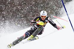 SAMSAL Dalibor of Croatia competes during the 1st Run of 10th Men's Slalom - Pokal Vitranc 2013 of FIS Alpine Ski World Cup 2012/2013, on March 10, 2013 in Vitranc, Kranjska Gora, Slovenia. (Photo By Vid Ponikvar / Sportida.com)