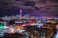 December Twilight, Seattle