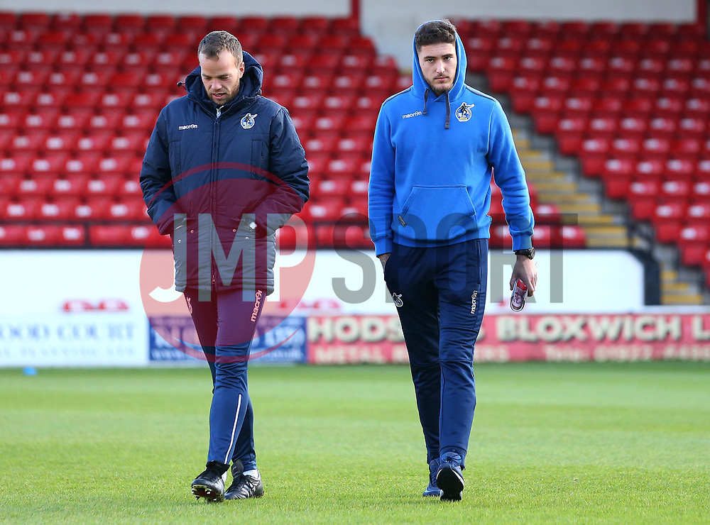 Ryan Sweeney of Bristol Rovers arrives at The Bank's Stadium to face Walsall - Mandatory by-line: Robbie Stephenson/JMP - 26/12/2017 - FOOTBALL - Banks's Stadium - Walsall, England - Walsall v Bristol Rovers - Sky Bet League One