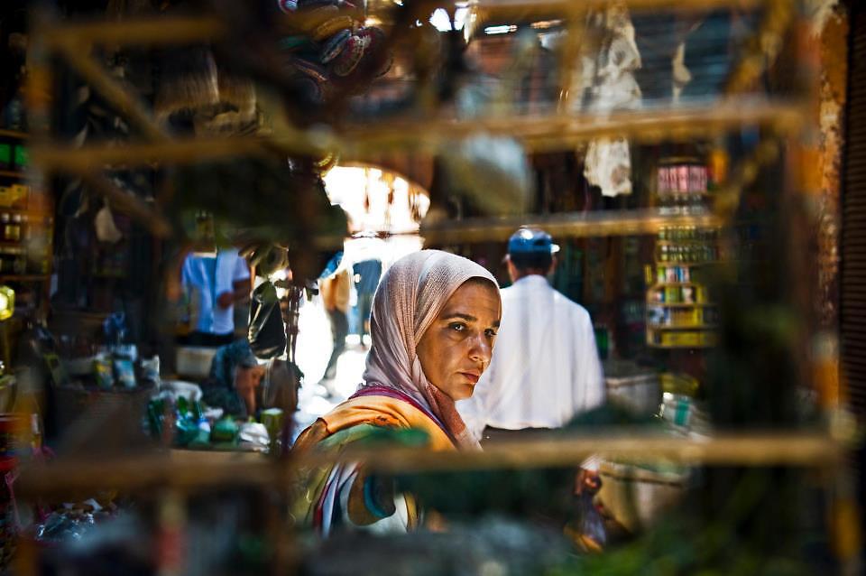 a woman in Marrakesh