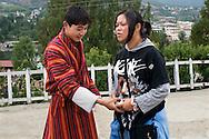 Digital Camera<br /> <br /> At the school yard in Thimphu, Bhutan.