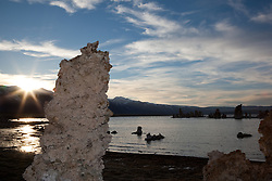 """Tufas at Mono Lake 13"" - These tufas were photographed at the South Tufa area in Mono Lake, California."