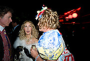 RICHARD BRIGGS; BASIA BRIGGS; GRAYSON PERRY, The Summer Party. Hosted by the Serpentine Gallery and CCC Moscow. Serpentine Gallery Pavilion designed by Frank Gehry. Kensington Gdns. London. 9 September 2008.  *** Local Caption *** -DO NOT ARCHIVE-© Copyright Photograph by Dafydd Jones. 248 Clapham Rd. London SW9 0PZ. Tel 0207 820 0771. www.dafjones.com.
