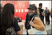 ELEANOR LINDSAY FYNN, Opening of Frieze art Fair. London. 14 October 2014