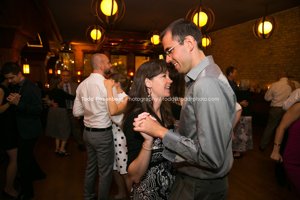 9/3/16 9:53:59 PM --  The wedding of Caroline Slack and Miles Maner at Revolution Brewing Co in Chicago, IL  © Todd Rosenberg Photography 2016