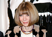 Anna Wintour poses at the Punk: Chaos to Couture press preview event for The Costume Institute at The Metropolitan Museum of Art in New York City, New York on February 11, 2013.