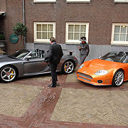 NLD/Amsterdam/20061111 - Huwelijk Christijan Albers en Liselore Kooijman, Porsche en Spyker