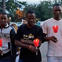 Preghiera in memoria degli immigrati vittime del naufragio