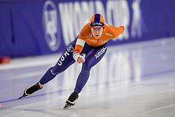 12-11-2017 NED: ISU World Cup, Heerenveen<br /> Ireen Wüst stelde met de elfde tijd (1.16,10) opnieuw teleur op de 1000 meter