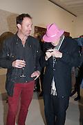 CHRIS HANLEY Mandala for Crusoe, Exhibition of work by Francesco Clemente. Blain/Southern. Hanover Sq. London. 29 November 2012