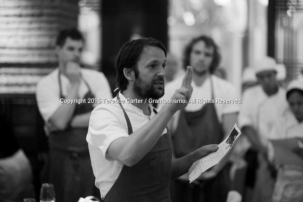 The Grand Gelinaz! Shuffle on July 9th 2015 Noma at Nahm, Bangkok<br />