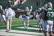 The Ohio University Bobcats take on Bowling Green during the homecoming matchup at Peden Stadium in Athens, Ohio on Saturday, October 8, 2016.