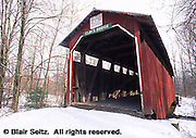 PA Covered Bridges, Little Buffalo State Park, Perry Co., Pennsylvania