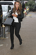 14.JANUARY.2013. LONDON<br /> <br /> LAUREN GOODGER LEAVING ITV STUDIOS IN SOUTHBANK.<br /> <br /> BYLINE: EDBIMAGEARCHIVE.CO.UK<br /> <br /> *THIS IMAGE IS STRICTLY FOR UK NEWSPAPERS AND MAGAZINES ONLY*<br /> *FOR WORLD WIDE SALES AND WEB USE PLEASE CONTACT EDBIMAGEARCHIVE - 0208 954 5968*