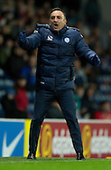 Sheffield Wednesday manager Carlos Carvalhal expresses his frustration during the Sky Bet Championship match at Ewood Park, Blackburn<br /> Picture by Russell Hart/Focus Images Ltd 07791 688 420<br /> 28/11/2015