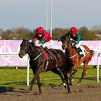 Addikt and William Twiston-Davis winning the 5.30 race