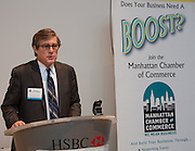 MCC's Quarterly Chairman's Breakfast. Ronald I. Paltrowitz, Interim Chair & General Counsel, welcomes guests.