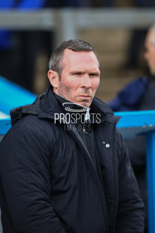 Oxford manager Michael Appleton during the Sky Bet League 2 match between Carlisle United and Oxford United at Brunton Park, Carlisle, England on 30 April 2016. Photo by Craig McAllister.