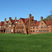 Vineland mansion now part of Salve Regina University, Newport, Rhode Island. The mansion was originally built in 1882 for tobacco heiress Catharine Lorillard Wolfe.