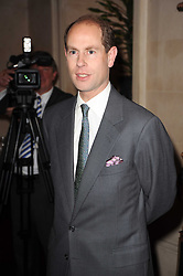HRH THE EARL OF WESSEX at a reception hosted by Films Without Borders at the Lanesborough Hotel, Hyde Park Corner, London on 27th October 2010.