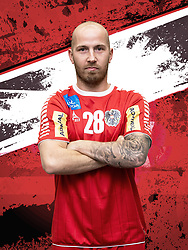 26.10.2018, Raiffeisen Sportpark, Graz, AUT, ÖHB, Fototermin Herren Nationalteam, im Bild Robert Weber (AUT) // during a Portrait Photoshoot of the Austrian men' s handball National Team at the Raiffeisen Sportpark, Graz, Austria on 2018/10/26. EXPA Pictures © 2018, PhotoCredit: EXPA/ Sebastian Pucher