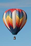 Hot air balloon at the Albuquerque Balloon Fiesta in New Mexico.