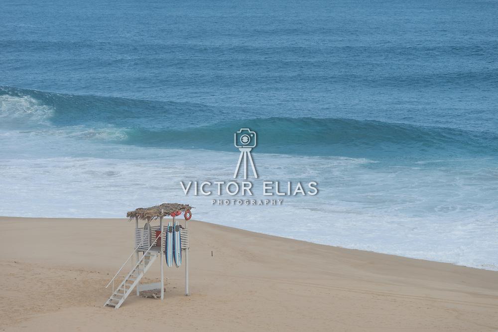Life Guard post at Pueblo Bonito Pacifica Resort. Cabo San Lucas, BCS.