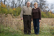 Bill and Donna Lewis, supporters of Donald Trump for President, in Seneca Falls, New York on Thursday, November 17, 2016. Mike Bradley for The New York Times