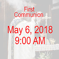 St Catherine 1st Communion 9AM 05-06-18