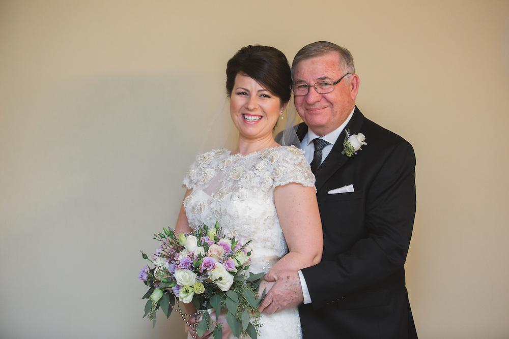 Christina & Steve's Roseville Winter Wedding